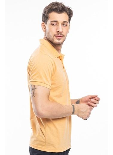 Slazenger Slazenger BOARD Erkek T-Shirt Petrol Hardal